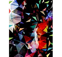 Triangles In Transition Photographic Print