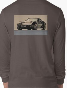 1969 Corvette, Betty Long Sleeve T-Shirt