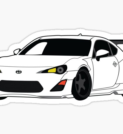 Widebody FRS Sticker