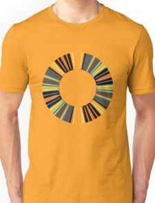 Colorful ring Unisex T-Shirt