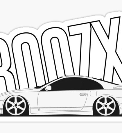z32 300zx Text Sticker