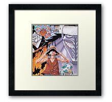 ONE PIECE #03 Framed Print