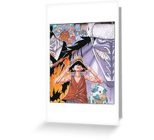 ONE PIECE #03 Greeting Card