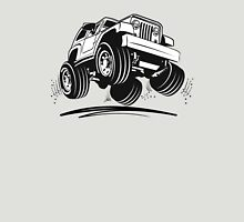 Cartoon Jeep Wrangler Unisex T-Shirt