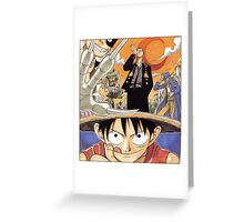 ONE PIECE #04 Greeting Card