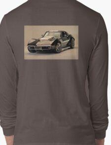 Betty the 69 Corvette Long Sleeve T-Shirt
