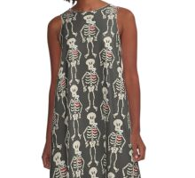 Heart Imprisoned in a Rib Cage A-Line Dress
