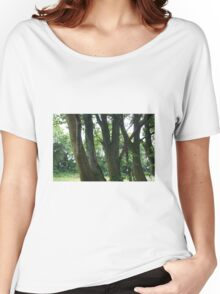 Line of trees Women's Relaxed Fit T-Shirt