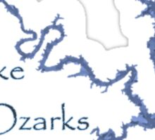 Lake of the Ozarks Missouri Sticker