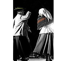 Argentinian Dancers In Andalucia, Colombia Photographic Print