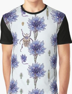 blue cornflower fields Graphic T-Shirt
