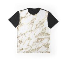 Gold Marble Graphic T-Shirt