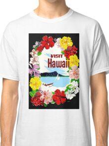 """HAWAII"" Travel Advertising Print Classic T-Shirt"