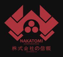 NAKATOMI PLAZA - DIE HARD BRUCE WILLIS (RED) One Piece - Short Sleeve