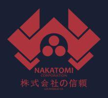 NAKATOMI PLAZA - DIE HARD BRUCE WILLIS (RED) Kids Tee