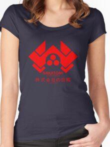 NAKATOMI PLAZA - DIE HARD BRUCE WILLIS (RED) Women's Fitted Scoop T-Shirt