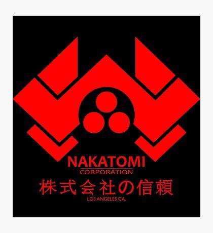 NAKATOMI PLAZA - DIE HARD BRUCE WILLIS (RED) Photographic Print
