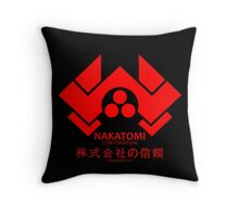 NAKATOMI PLAZA - DIE HARD BRUCE WILLIS (RED) Throw Pillow