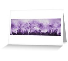 Floral home decoration. Agapanthus 10 Greeting Card