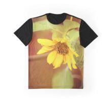 Dreaming Sunflower Graphic T-Shirt