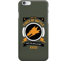 Into the Fires of Battle - Salamanders iPhone Case/Skin