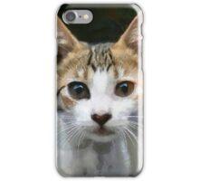 cat look  iPhone Case/Skin