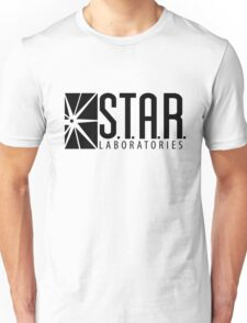 S.T.A.R. Laboratories | Black [HD] Unisex T-Shirt