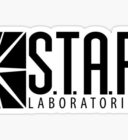 S.T.A.R. Laboratories | Black [HD] Sticker
