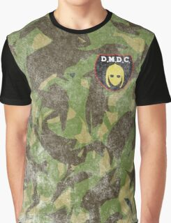 DMDC Detectorists Badge - Distressed Graphic T-Shirt