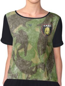 DMDC Detectorists Badge - Distressed Chiffon Top