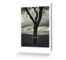 Sign Post Tree Greeting Card