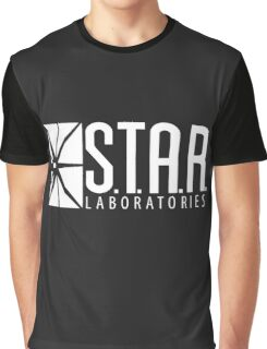 S.T.A.R Laboratories | White [HD] Graphic T-Shirt