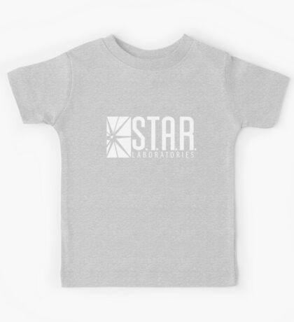 S.T.A.R Laboratories | White [HD] Kids Tee