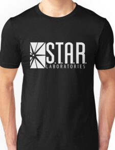 S.T.A.R Laboratories | White [HD] Unisex T-Shirt