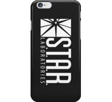 S.T.A.R Laboratories | White [HD] iPhone Case/Skin