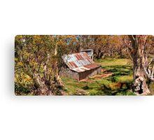 Wallace Hut Canvas Print