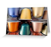 Nespresso Time Greeting Card