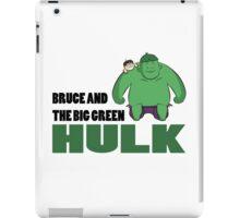Big Green Hulk iPad Case/Skin