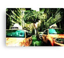 New York Apocalypse End of the World Canvas Print