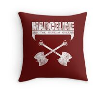 Marceline and the Scream Queens Throw Pillow
