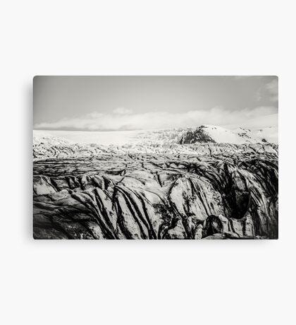 Am Gletscher IV Canvas Print