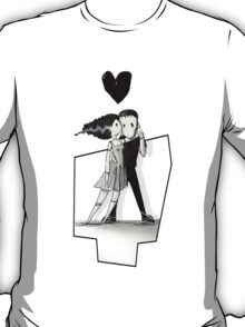 'Frankenstein in love' T-Shirt