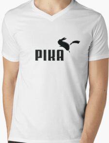 Pika! Mens V-Neck T-Shirt