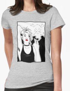 Smoking Kills Womens Fitted T-Shirt