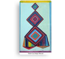 Totem by Diego Manuel Canvas Print