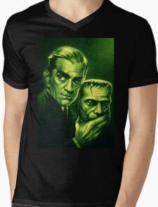 Karloff Mens V-Neck T-Shirt