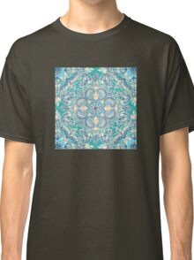 Gypsy Floral in Teal & Blue Classic T-Shirt