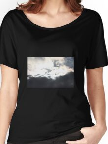 Light behind the dark Women's Relaxed Fit T-Shirt