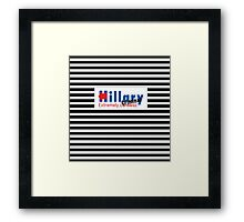 Hillary Extremely Careless Criminal Framed Print