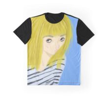 Blonde Girl Graphic T-Shirt
